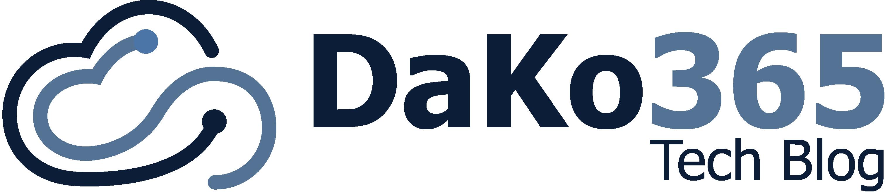 DaKo365 Tech Blog